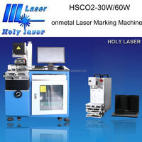 Give ourselves more cleaning earth !!! HSCO2 nonmetal laser marking machine