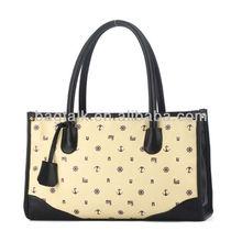 Vintage printing fashion single shoulder lady handbags
