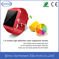 Smart Watch With WIFI+3G+GPS+Bluetooth U8 Smart Watch 2015 Wrist Watch Phone