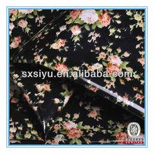 Zhejiang Keqiao venta caliente del pvc cuero del brillo para el equipaje