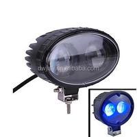 Waterproof 8W 1000lm Blue Light Spot Beam LED Car Warning Light dark spot remover soap