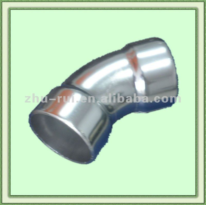 Aluminum adjustable joint elbow for staircase connection