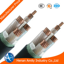 High Quality 240mm2 600V 1000V Four Cores Copper Conductor XLPE Insulated Low voltage Power Cable With Manufacturer Price