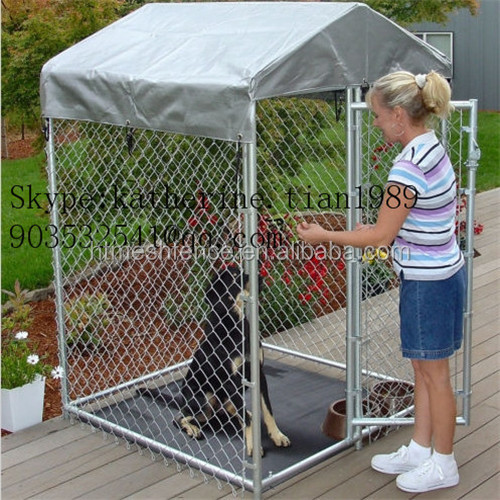 hot dipped galvanized Large Dog Kennel