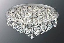 2015 hot sale modern style luxury light with crystal ornament G4 ceiling light