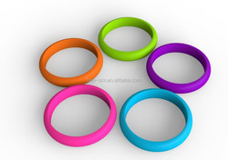 hot selling wristband strap with silicone gel making