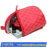 PU Leather Beauty Bag / Makeup Bag China Supplier