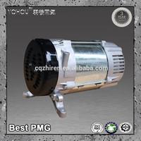 AC 3 phase brushless rare earth neodymium permanent magnet brushless alternator generator rotor and stator