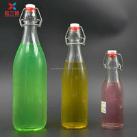 250ml 500ml 1L shape round and flat drinking bottle with swing top