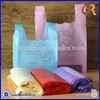 Custom printed hdpe t-shirt plastic bag wholesale