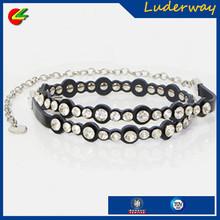 womens accessories rhinestone waist chain western fashion crystals dress belt