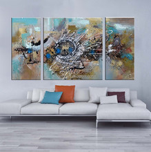 modern textured canvas painting for decor