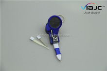 Creative 4 in 1 ballpoint pen /nail clipper/Earpick/Grind a knife