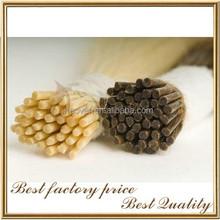 Wholesale cheap virgin human hair extension keratin fusion tip 100% remy human hair extension