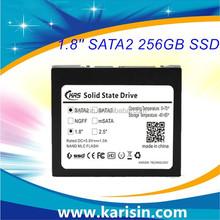 Top selling Karisin MLC SATA2 ssd 1.8 256gb