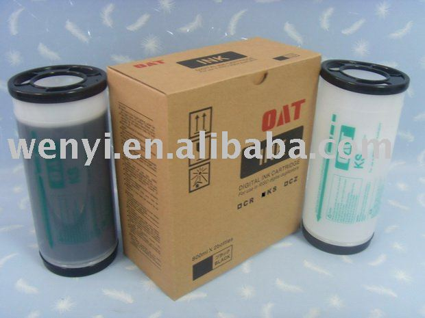 Riso KS de la duplicadora de tinta, Duplicadora impresora Riso tinta y consumibles de tinta y tinta digital