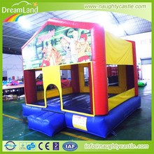 popular inflatable mini bounce house,famous cartoon jumping castle,children jumping play bounce castle