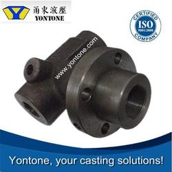 Yontone Foundry US Market Oriented T6 60Mn 65Mn 70Mn oem steel sand casting for oil and gas industry parts