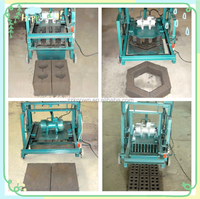 Small Scale Manual Cement Brick Making Machine Price List
