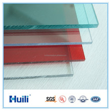 Only 30% Infrared Transmittance Colored Huili Anti-Infrared Heat Ressistant 6.6mm Solid PC Sheet with UV Protection