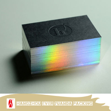 High quality edge gilding thick business cards/cheap embossing business card