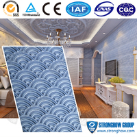 Unique pattern textured wall board from building material supplier