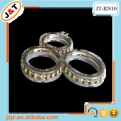 24k luxury diamond curtain ring clip, royal curtain design