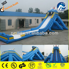 giant hippo inflatable water slide/ giant inflatable hippo slide