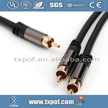 3M high quality Metal shell interconnect audio cable vga rca