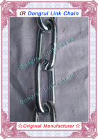 Dongrui manufacture welded steel long link chain in good quanlity