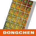 Precio de oro Seguridad Best Sticker Anti-falsificación del laser