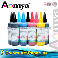 Waterproof high quality art paper ink for Epson/HP/Canon printer