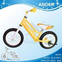 colored kids racing bike / outer door toy /baby's scooter
