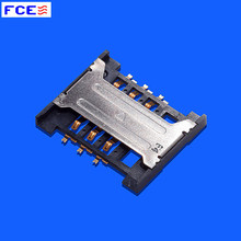 Customize 3Pin PCB SIM Card Holder Plastic Housing connector
