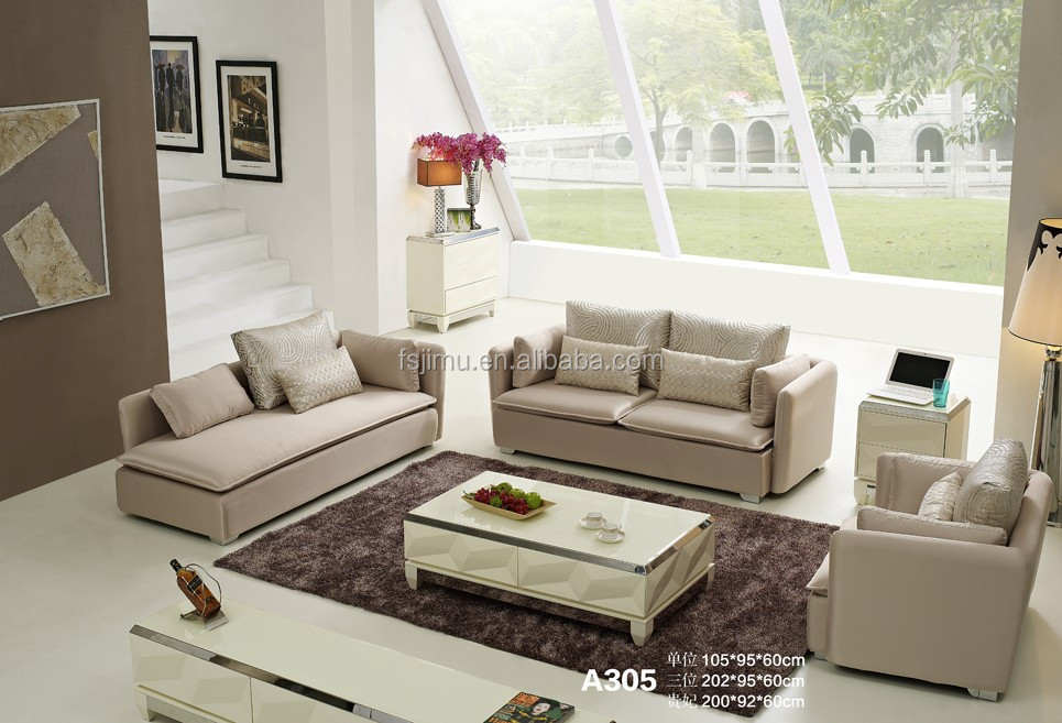 modern fabric sectional sofa furniture set