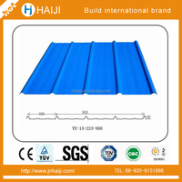 Galvanized Corrugated Steel roof sheets price per sheet width 600-1250mm