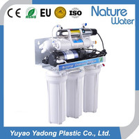 50GPD 7 stage auto flushing domestic Reverse osmosis system with UV