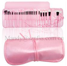 32PCS New PINK Pro Superior Soft Cosmetic Makeup Brush Set Kit + Pouch Bag Case, 32 pcs makeup brush set, makeup brush