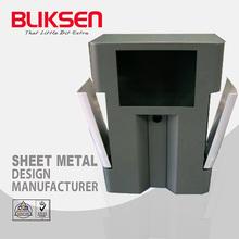 Semiconductor aluminum tool equipment box and enclosure
