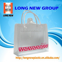 new hot products on the market pvc transparent cosmetic shopping bag