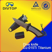 SCUBA Diving Gear Titanium Knife For BC