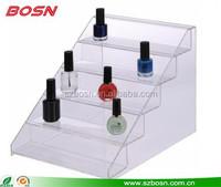 Wholesale countertop acrylic makeup nail polish display for store