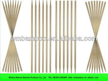 Religious used bamboo raw incense sticks