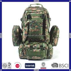 good quality customized logo OEM design waterproof tactical backpack