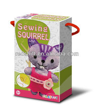 Educational toy make your doll sewing animal Squirrel