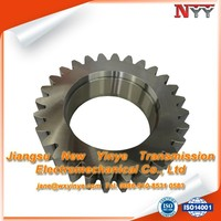 steel spur straight tooth gear cogs