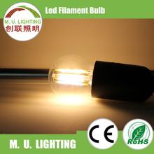 Professional Manufacturer glass house led light bulb g45 for decoration, led filament light bulb