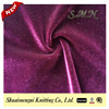 92% Polyester 8% spandex Fashion Tricot Shining Korea Velvet Fabric for trousers