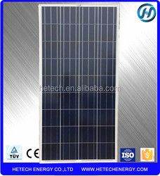 best price solar panels 140w polycrystalline from alibaba china manufacturer