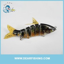 Fish Wholesale Top Quality Cheap 6 Section Tiny Lure